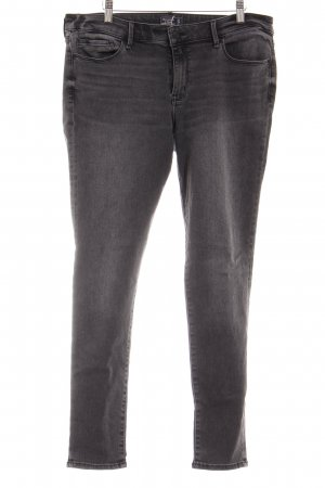 Abercrombie & Fitch Hoge taille jeans zwart casual uitstraling