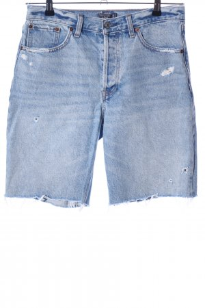 Abercrombie & Fitch High-Waist-Shorts blue casual look