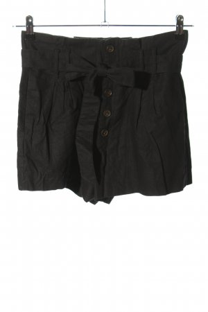 Abercrombie & Fitch High-Waist-Shorts schwarz Casual-Look
