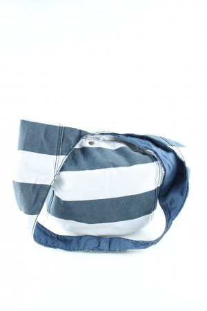 Abercrombie & Fitch Bolsa Hobo azul-blanco look casual