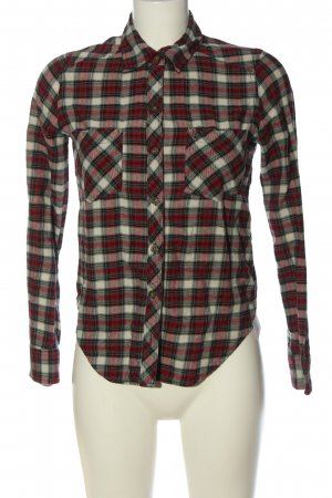 Abercrombie & Fitch Holzfällerhemd Allover-Druck Casual-Look