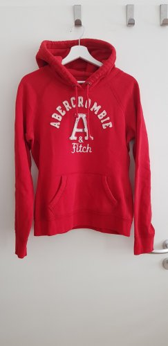 Abercrombie & Fitch Capuchon sweater rood