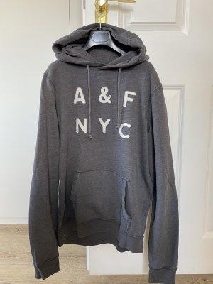 Abercrombie & Fitch Sweat à capuche gris foncé