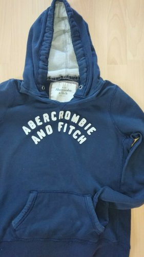 Abercrombie fitch, Hoodie, Gr. L, Blau, Grau,