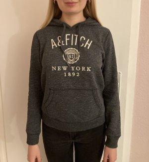 Abercrombie & Fitch Sweatshirt met capuchon grijs-antraciet