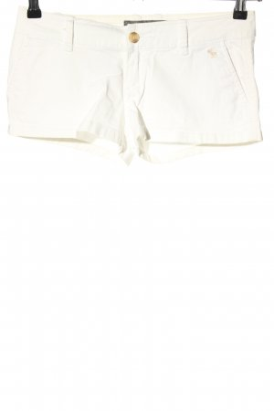 Abercrombie & Fitch Hot Pants wollweiß Casual-Look