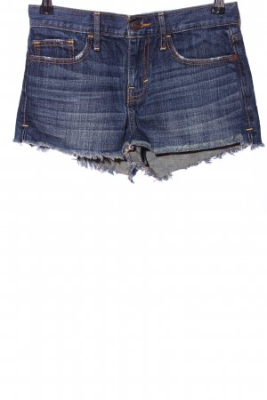 Abercrombie & Fitch Hot Pants blau Casual-Look