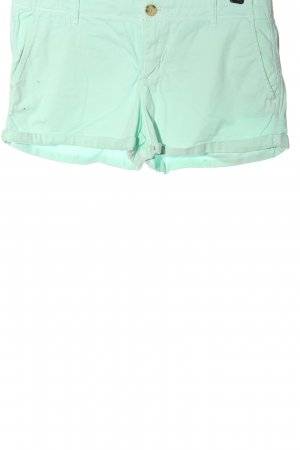 Abercrombie & Fitch Hot Pants türkis Casual-Look