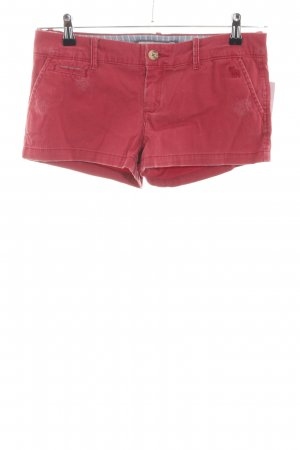 Abercrombie & Fitch Hot Pants rot Motivdruck Casual-Look