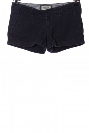 Abercrombie & Fitch Hot Pants schwarz Casual-Look
