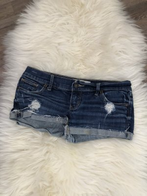 Abercrombie & Fitch Hot pants donkerblauw