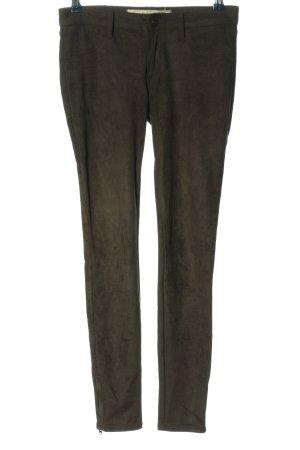 Abercrombie & Fitch pantalón de cintura baja caqui look casual