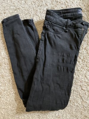 Abercrombie & Fitch Jeans skinny nero Cotone