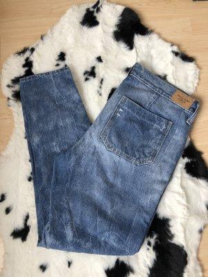 Abercrombie & Fitch Jeans a gamba dritta blu