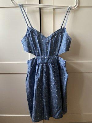Abercrombie & Fitch Jeans-Kleid mit Punkten