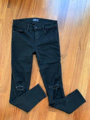 Abercrombie & Fitch Jeans Schwarz