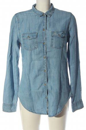 Abercrombie & Fitch Jeanshemd blau Casual-Look
