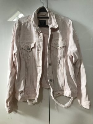 Abercrombie & Fitch Jeansjacke Used-Look