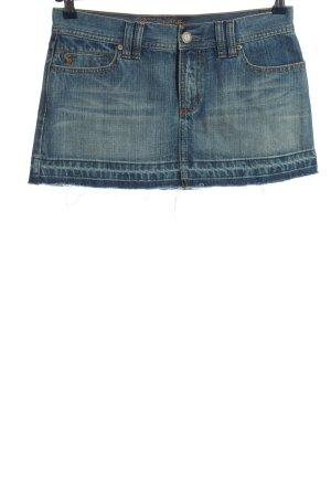 Abercrombie & Fitch Jeansrock blau Casual-Look