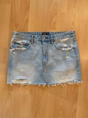 Abercrombie & Fitch Jupe en jeans bleu pâle-bleu clair