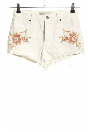 Abercrombie & Fitch Jeansshorts mehrfarbig Casual-Look