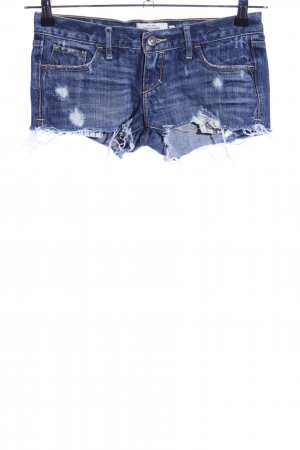 Abercrombie & Fitch Denim Shorts blue second hand look
