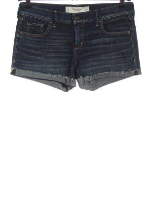Abercrombie & Fitch Spijkershort blauw casual uitstraling