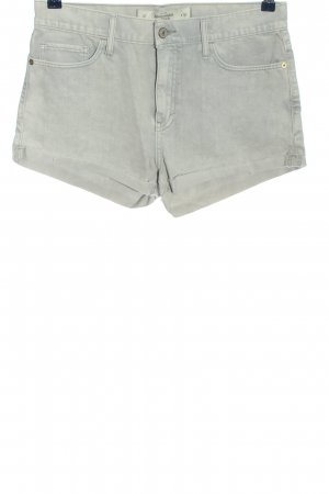 Abercrombie & Fitch Jeansshorts hellgrau Casual-Look