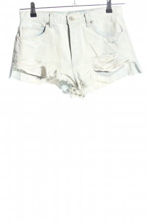Abercrombie & Fitch Jeansshorts wollweiß Casual-Look