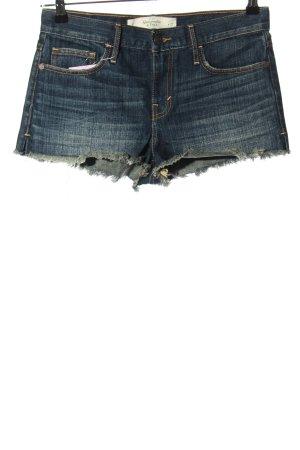 Abercrombie & Fitch Jeansowe szorty niebieski W stylu casual