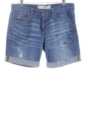 Abercrombie & Fitch Jeansshorts blassblau Casual-Look