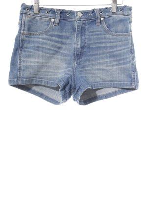 Abercrombie & Fitch Jeansshorts kornblumenblau Casual-Look