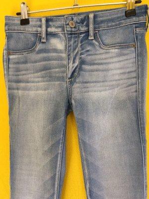 Abercrombie&Fitch Jeggins W26/L29 Neu hellblau weiß hollister super skinny XS