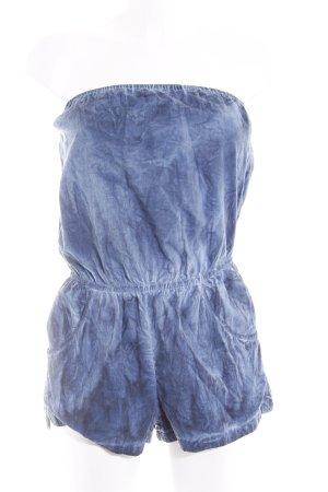 Abercrombie & Fitch Jumpsuit stahlblau-dunkelblau Farbverlauf Casual-Look