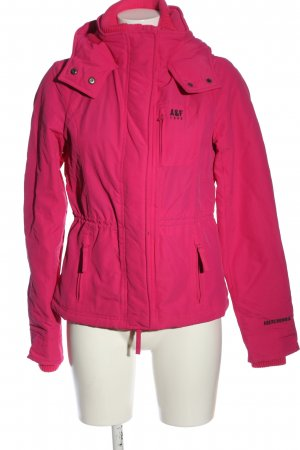 Abercrombie & Fitch Kapuzenjacke pink Casual-Look