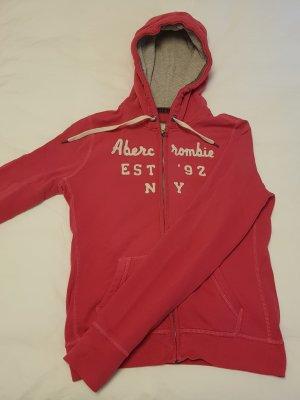 Abercrombie & Fitch Kapuzenjacke pink Größe L