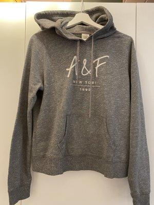 Abercrombie & Fitch Pull à capuche gris