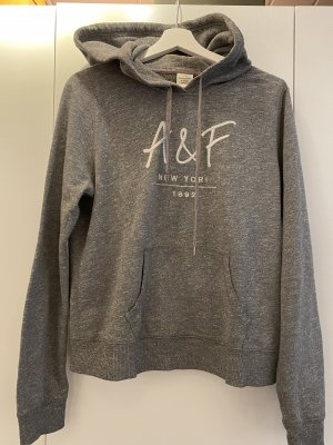 Abercrombie & Fitch Hooded Sweater grey