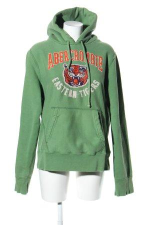 Abercrombie & Fitch Jersey con capucha multicolor estilo deportivo