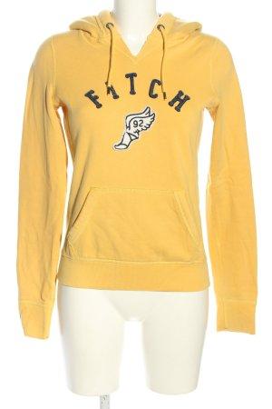 Abercrombie & Fitch Kapuzensweatshirt Motivdruck sportlicher Stil
