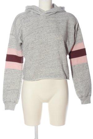 Abercrombie & Fitch Kapuzensweatshirt meliert Casual-Look