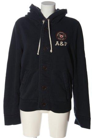 Abercrombie & Fitch Kapuzensweatshirt schwarz Casual-Look