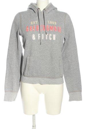 Abercrombie & Fitch Kapuzensweatshirt meliert sportlicher Stil