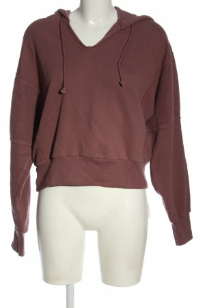 Abercrombie & Fitch Sudadera con capucha marrón look casual