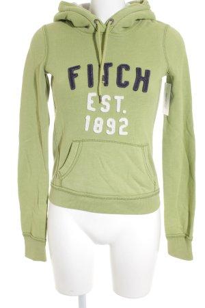 Abercrombie & Fitch Kapuzensweatshirt mehrfarbig sportlicher Stil