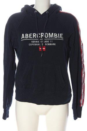 Abercrombie & Fitch Kapuzensweatshirt Motivdruck Casual-Look
