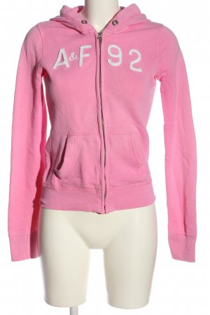 Abercrombie & Fitch Kapuzensweatshirt pink Casual-Look