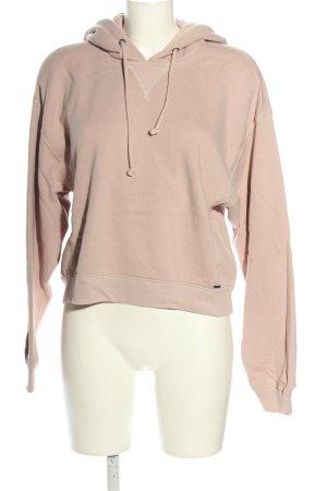 Abercrombie & Fitch Kapuzensweatshirt pink Motivdruck Casual-Look