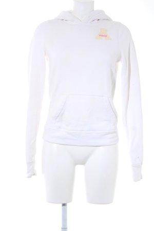 Abercrombie & Fitch Kapuzensweatshirt wollweiß Casual-Look