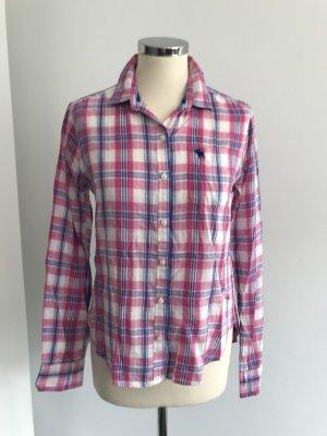 Abercrombie & Fitch Geruite blouse veelkleurig Katoen